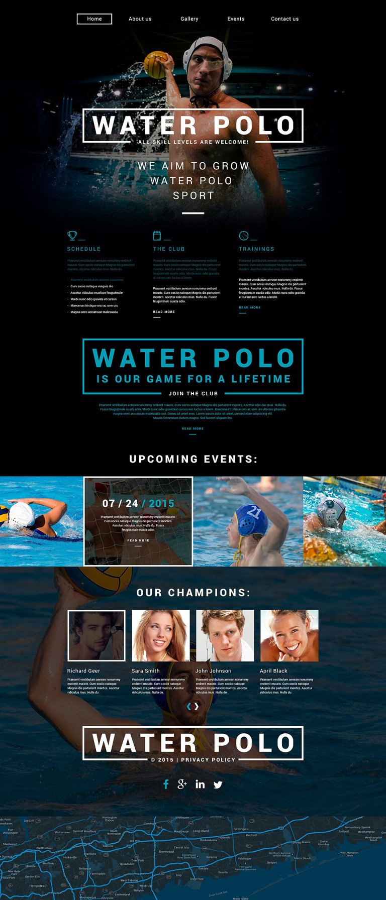 Polo Responsive Website Template New Screenshots BIG