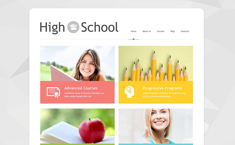 13 High School WordPress Templates & Themes
