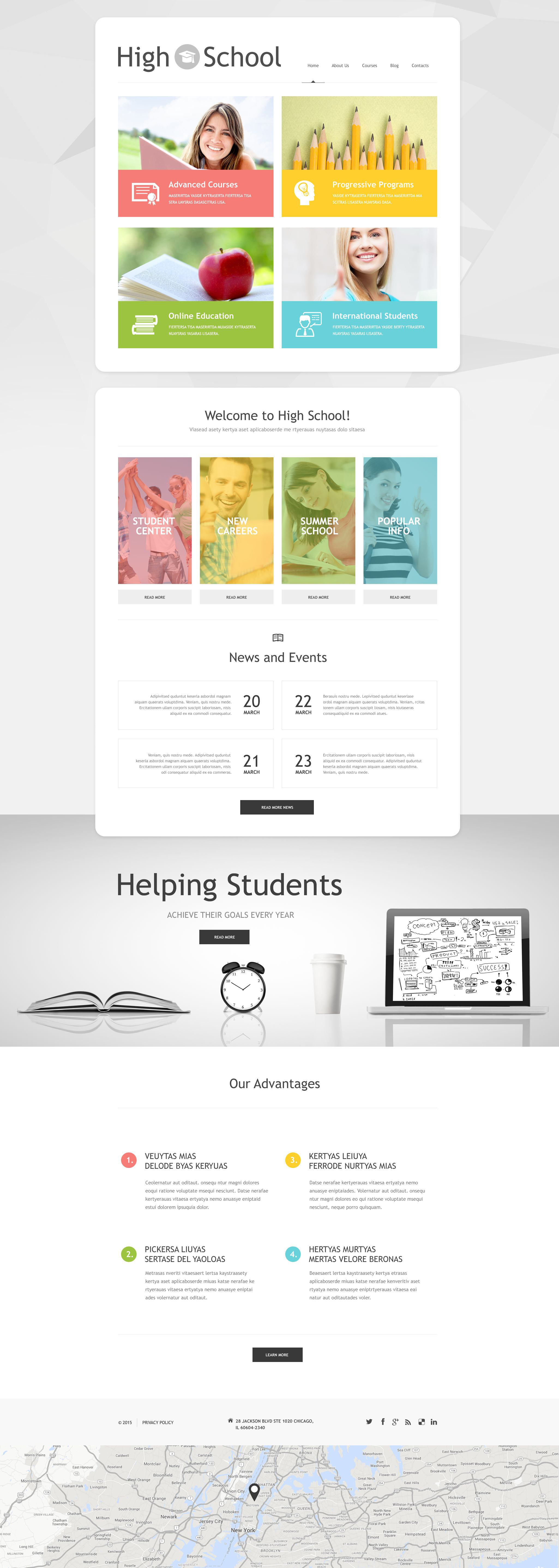 Schoolmaster WordPress Theme - screenshot