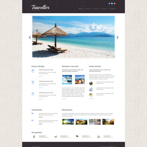 Traveller - Travel Agency Template based on Bootstrap