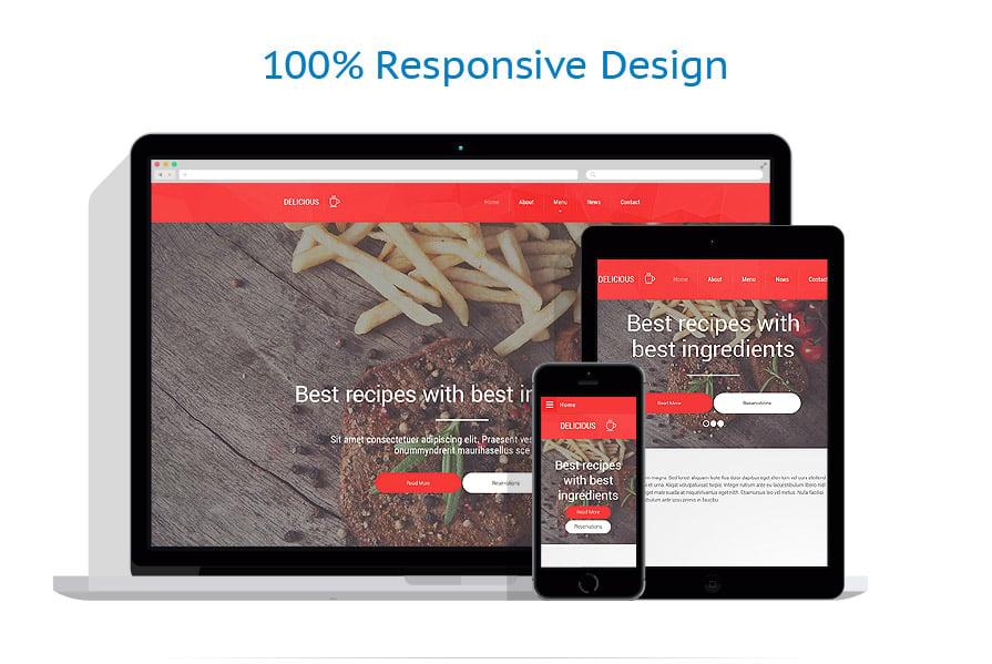 Modèles HTML5 Café et Restaurant #55001