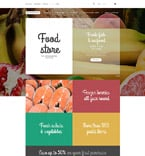 Food & Drink Magento Template 55004