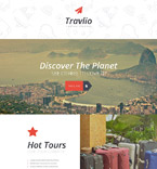 Travel Landing Page  Template 55010