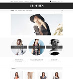 Fashion OpenCart  Template 55014