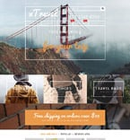 Travel PrestaShop Template 55017