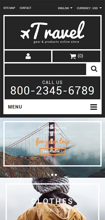 ADOBE Photoshop Template 55017 Home Page Screenshot