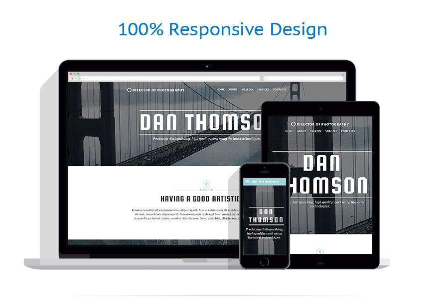 Modèles HTML5 Art et Photographie #55020