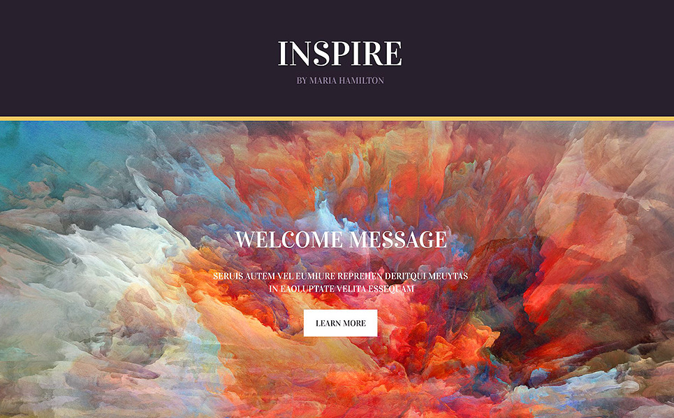Reszponzív Festés Nyítóoldal sablon New Screenshots BIG