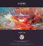 Landing Page  Template 55034