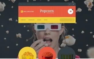 Popcorn Online Store OpenCart Template
