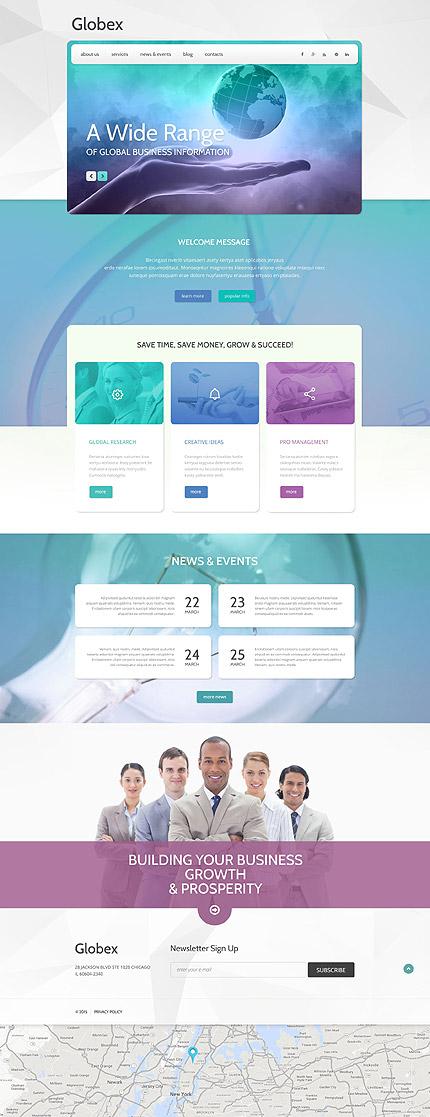 WordPress Theme/Template 55042 Main Page Screenshot
