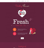 Wedding WordPress Template 55043