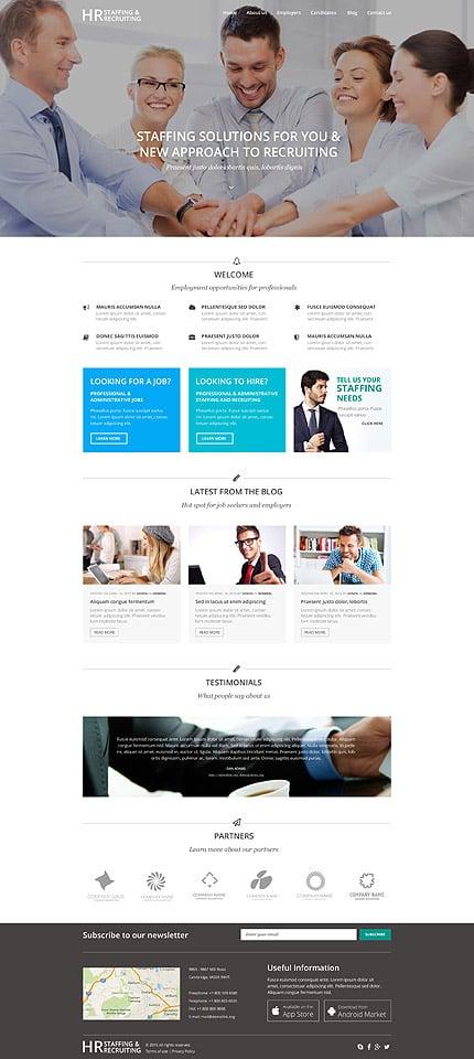 WordPress Theme/Template 55047 Main Page Screenshot