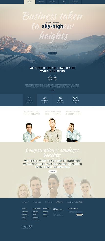 WordPress Theme/Template 55048 Main Page Screenshot