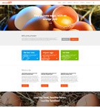 Agriculture Website  Template 55053