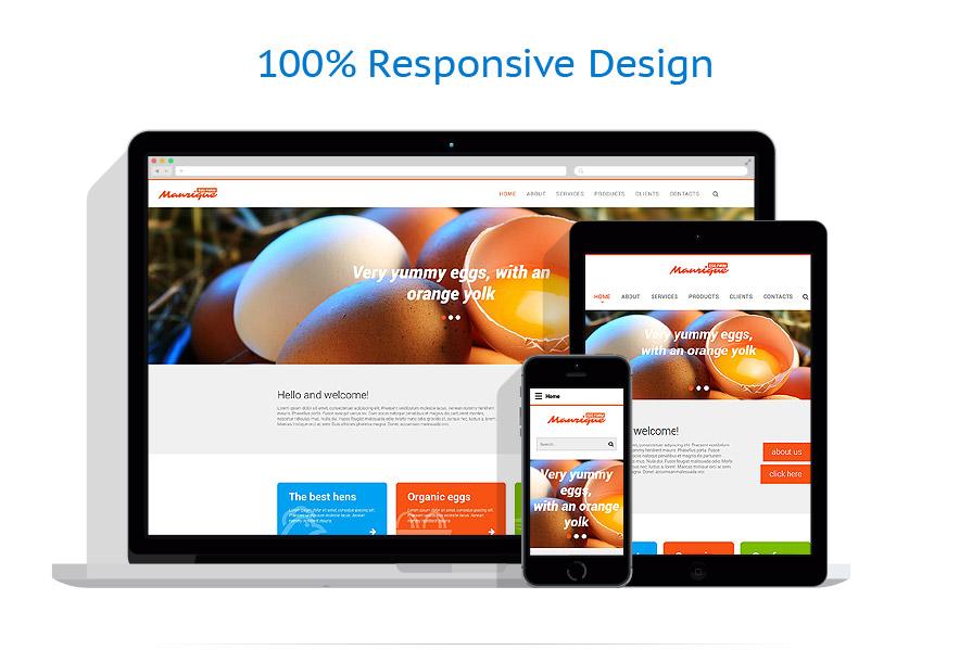 Modèles HTML5 Agriculture #55053