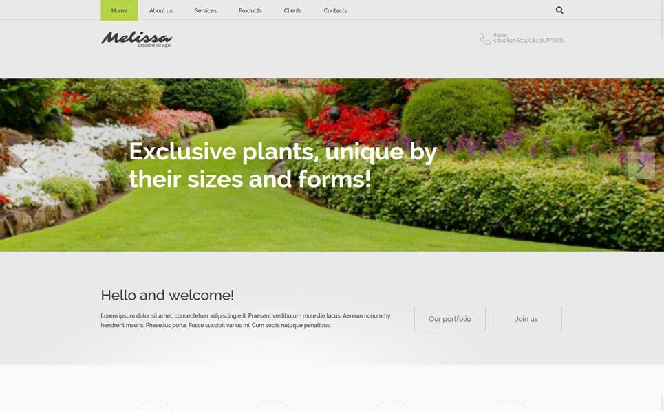 Адаптивний Шаблон сайту на тему зовнішнє оформлення New Screenshots BIG