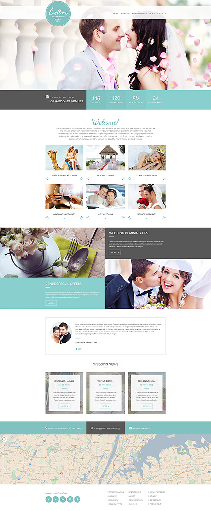 Website Template #55055