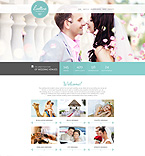 Wedding Website  Template 55055