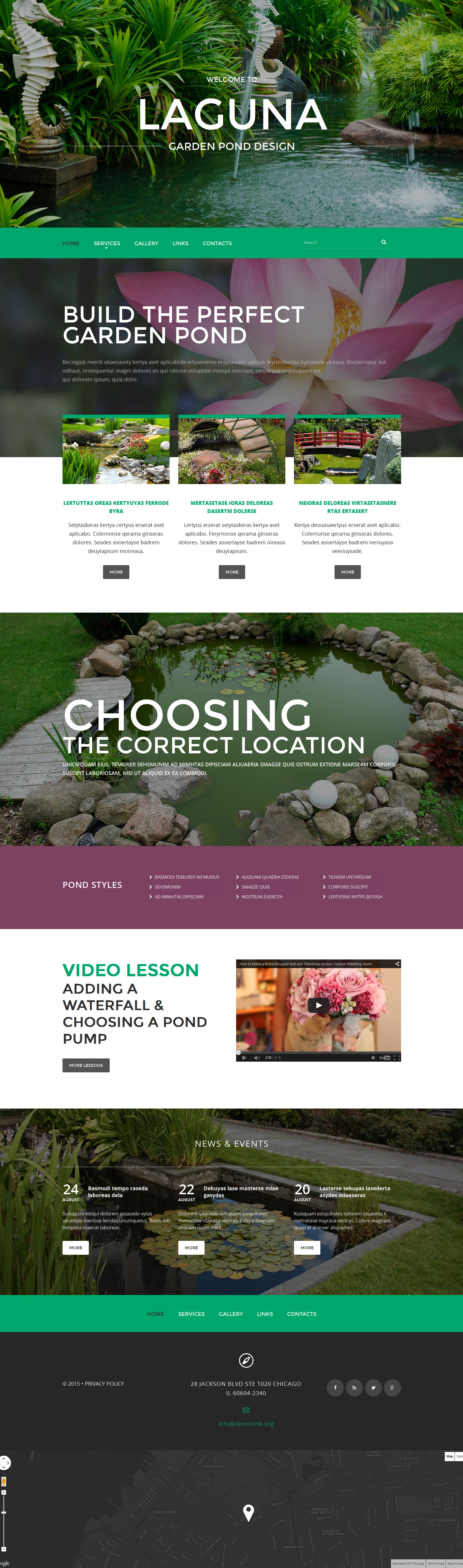Exterior design website template 55056 for Exterior design website templates
