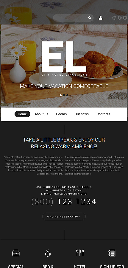 Joomla Theme/Template 55057 Main Page Screenshot