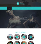 Art & Photography Joomla  Template 55060