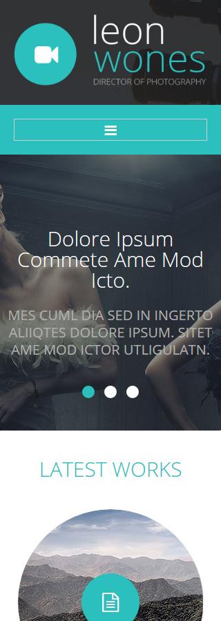 Joomla Theme/Template 55060 Main Page Screenshot