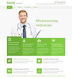 Medical Website  Template 55062