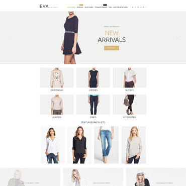 Preview image of Fashion ZenCart Template No. 55063
