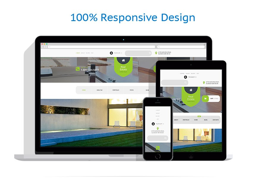 WooCommerce Themes Immobilier #55067