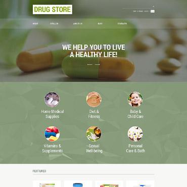 Купить  пофессиональные VirtueMart шаблоны. Купить шаблон #55070 и создать сайт.