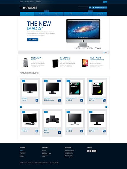 ADOBE Photoshop Template 55072 Home Page Screenshot