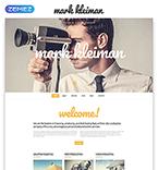 Entertainment Website  Template 55073