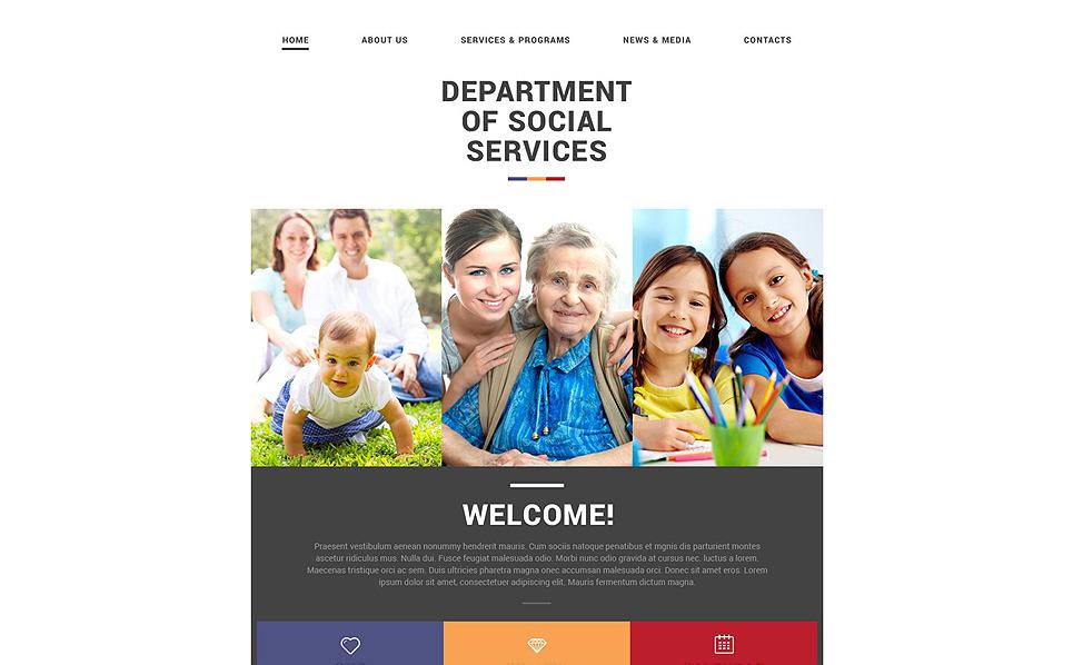 Responzivní Šablona webových stránek na téma Islámské společenské centrum New Screenshots BIG