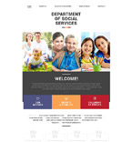 Society and Culture Website  Template 55077