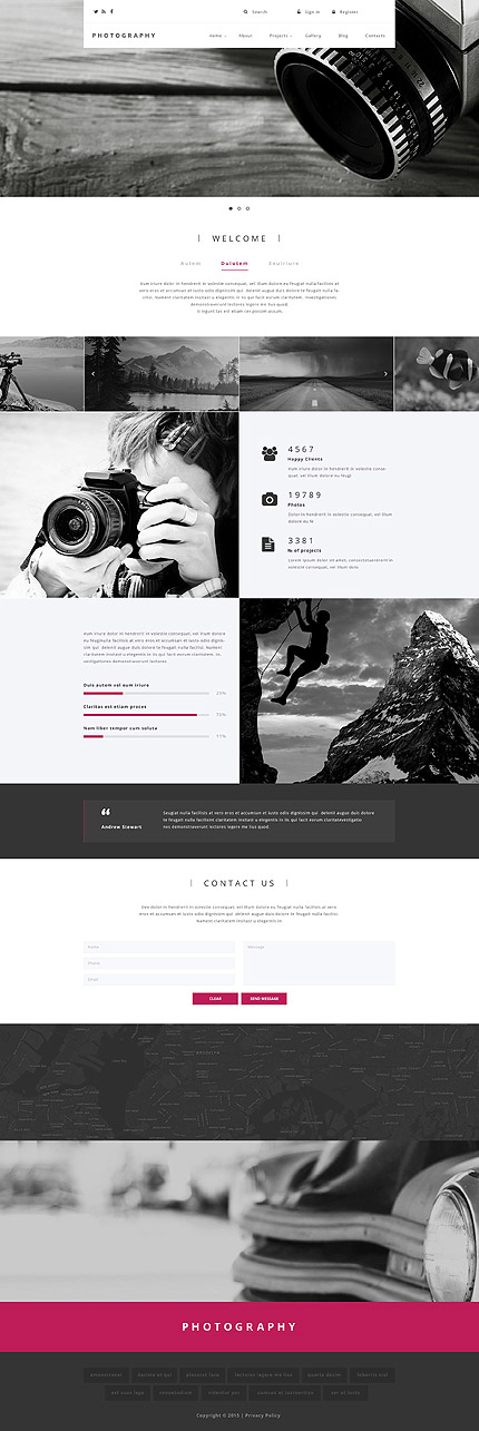 Drupal Template 55089 Main Page Screenshot