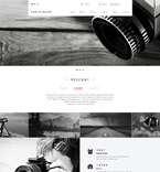 Art & Photography Drupal  Template 55089