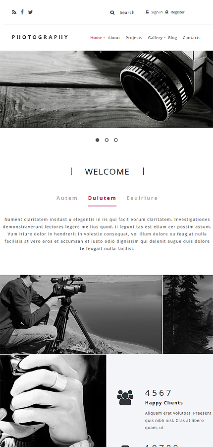Drupal Template 55089 Main Page Screenshot