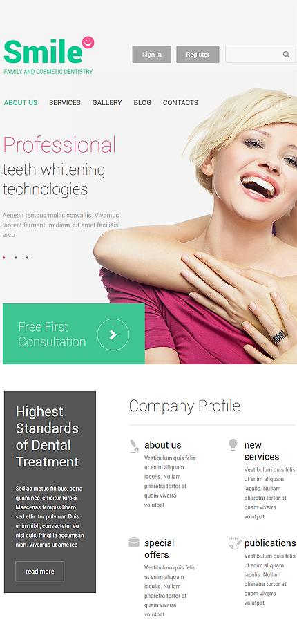 Drupal Template 55090 Main Page Screenshot