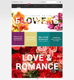 Flowers VirtueMart  Template 55092