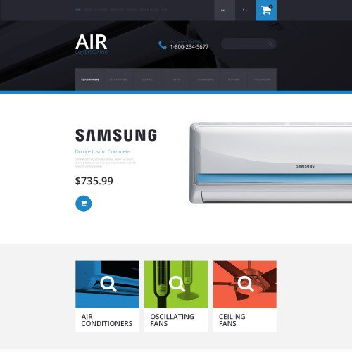 Air Conditioning - OpenCart Template based on Bootstrap