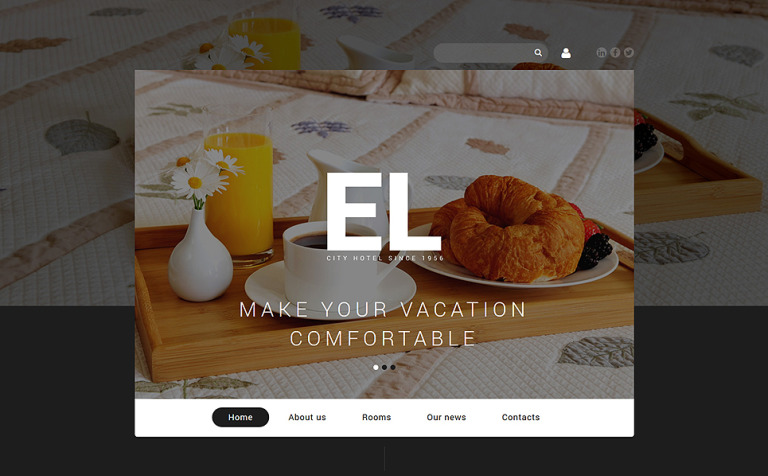 City Hotel Joomla Template