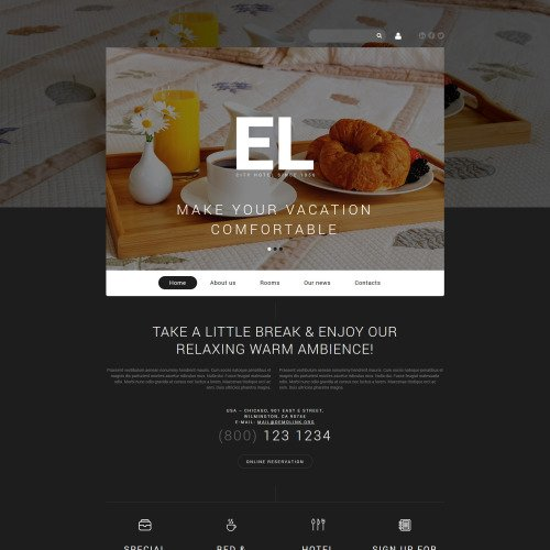 El - Joomla! Template based on Bootstrap