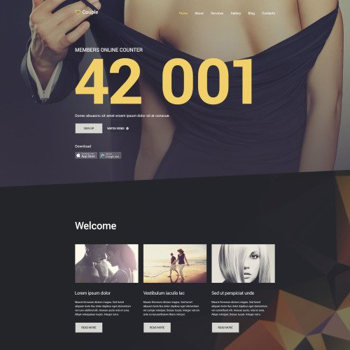 Couple - Joomla! Template based on Bootstrap