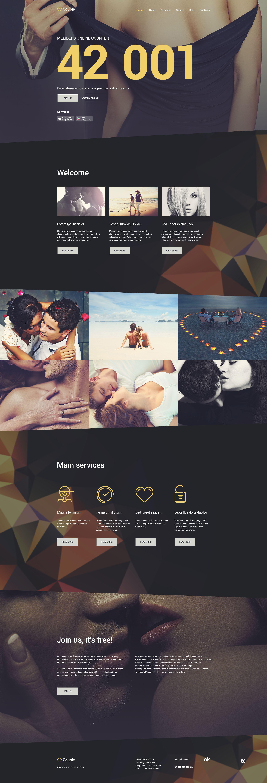 Couple Template Joomla №55094