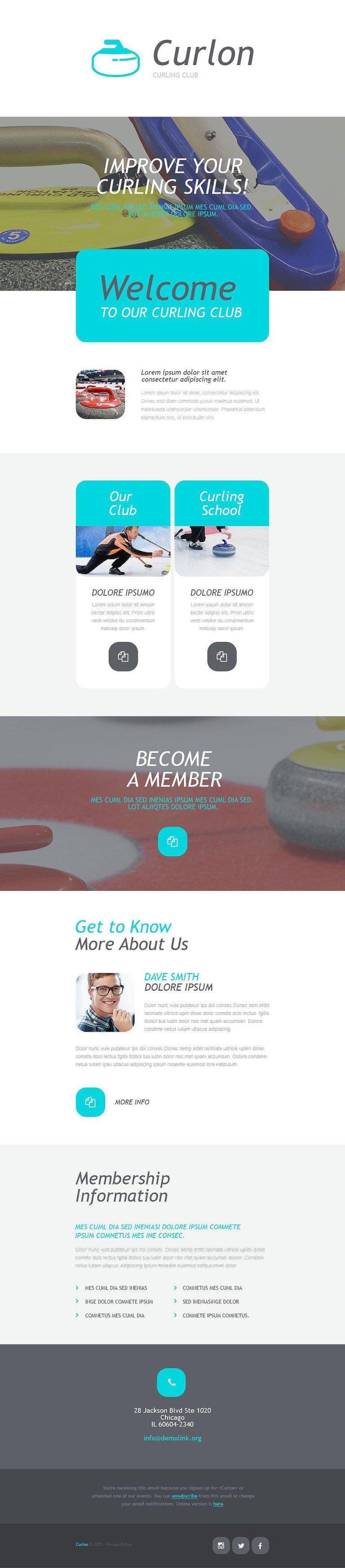 Curling Responsive Newsletter Template New Screenshots BIG