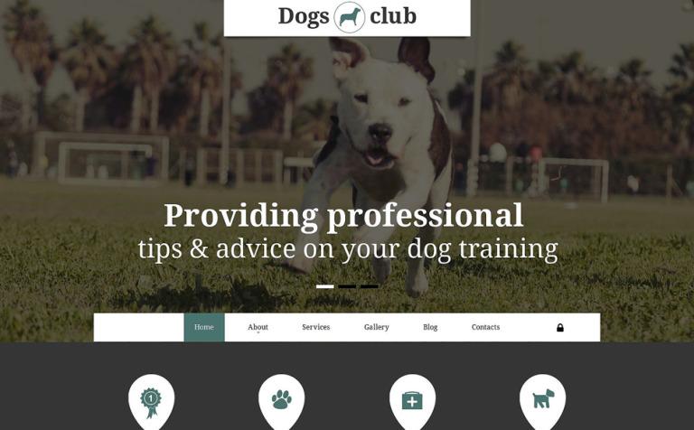 Dogs Club Joomla Template