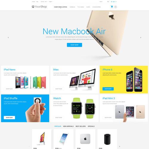 Your Shop - PrestaShop Template based on Bootstrap