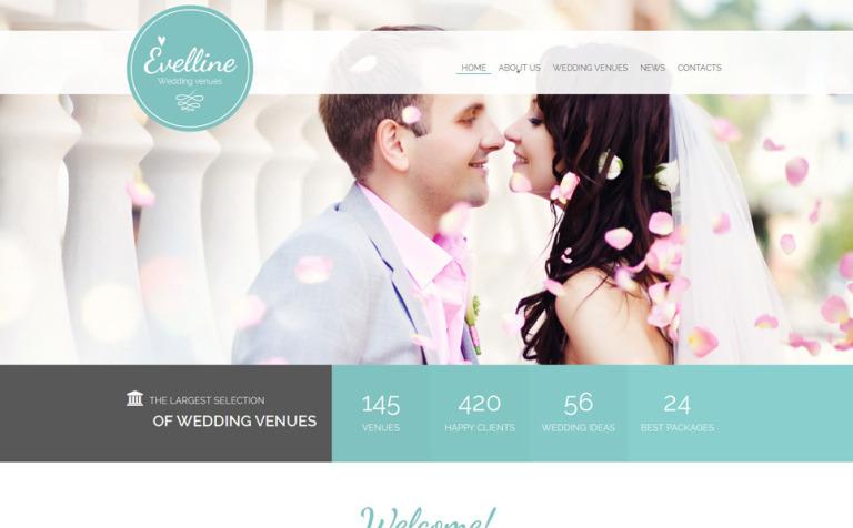 Evelline Website Template