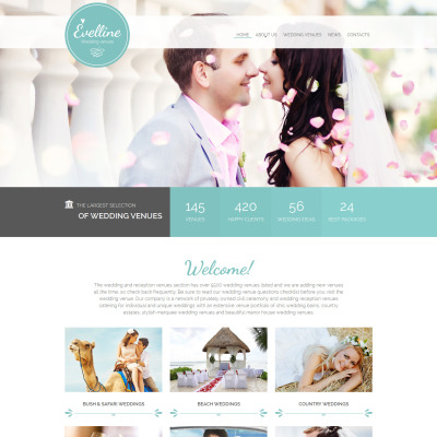 30 best wedding website templates
